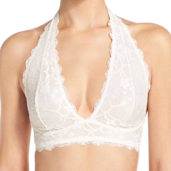 bb202c0c549c4 free press Other - 🌞FP ivory Lace halter Bralette
